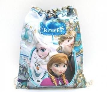 Мішок для взуття 'Frozen', Холодне серце 34х42см