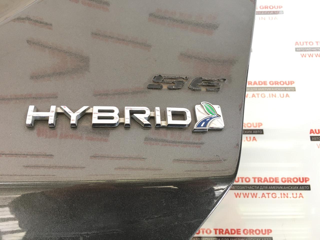 Напис Ford Fusion HYBRID 2013-2016