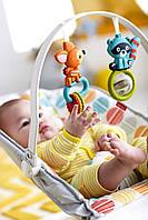 Дитяче крісло-качалка шезлонг Фішер Прайс Fisher-Price Comfort Curve Bouncer Cake Pop