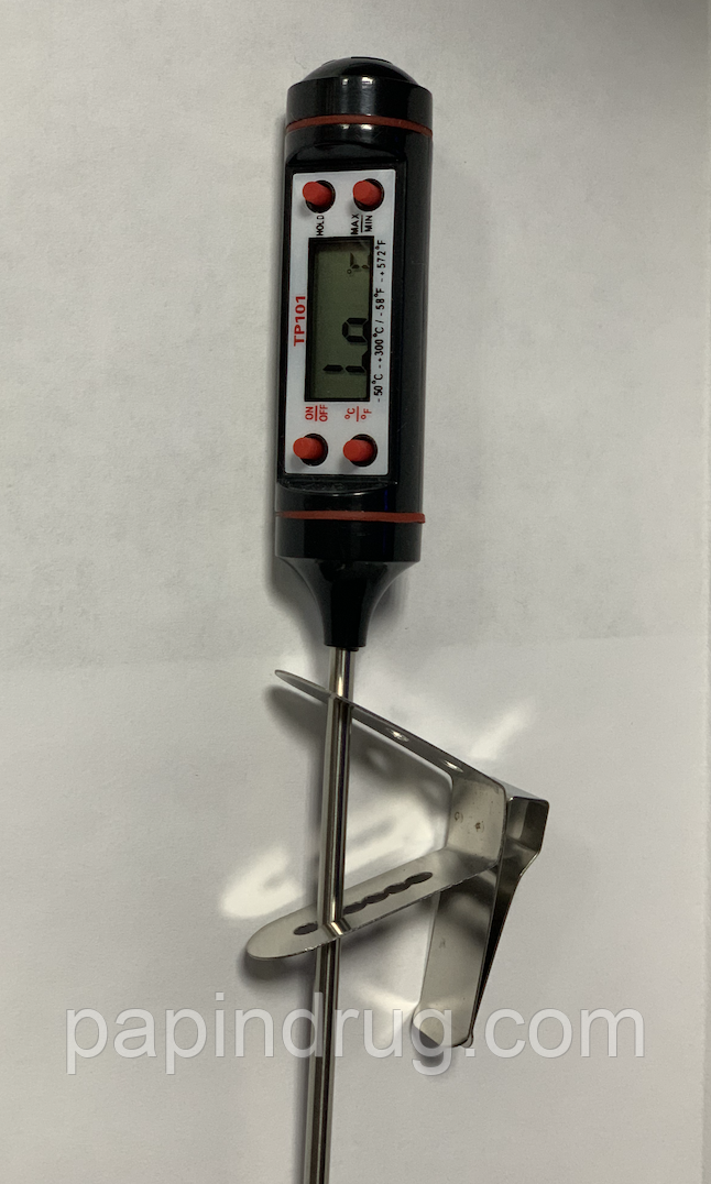 Держатель термометра, вариант 2, 304 нерж.сталь