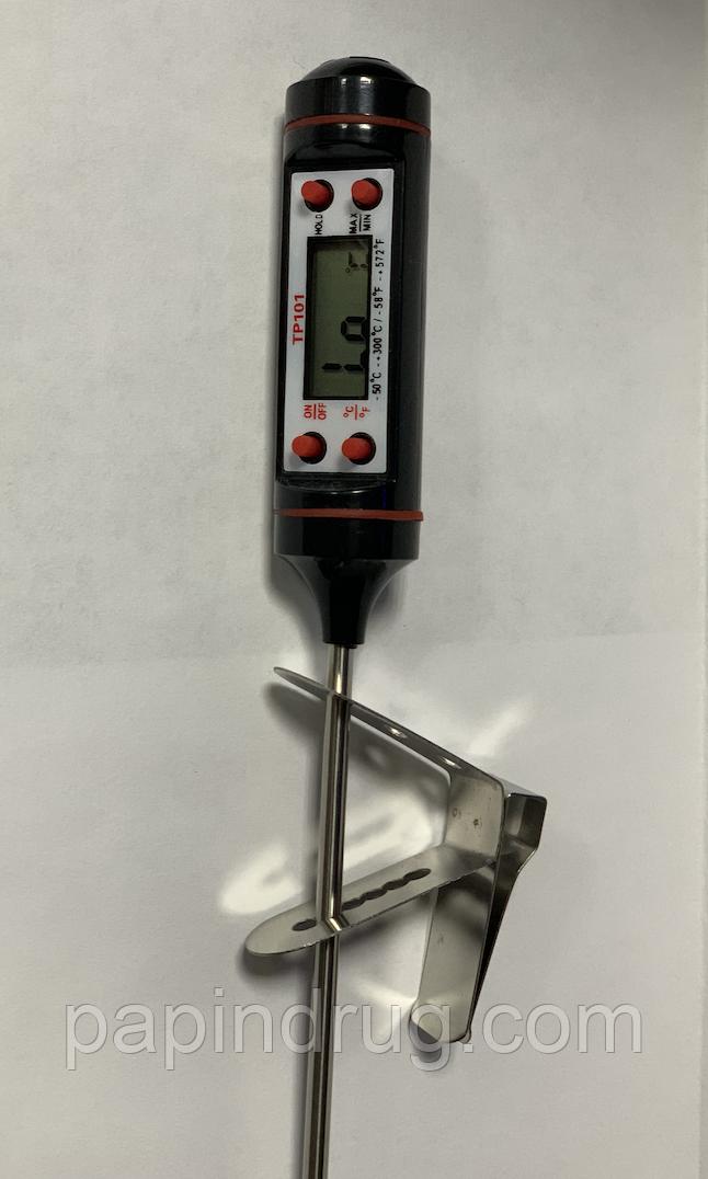 Тримач термометра, варіант 2, 304 нерж.сталь