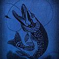 Полотенце махровое ТМ Речицкий текстиль, Хорошего клева 67х150 см, фото 2