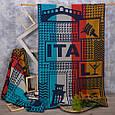 Полотенце махровое ТМ Речицкий текстиль, Тур по Италии 81х160 см, фото 2
