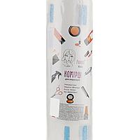 Комірець для перукарів еластичний Panni Mlada™ (100шт/рул, 5 рул/пач) паперовий, колір білий