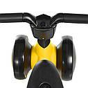 Дитячий каталка-толокар М 4086-6 жовтий, фото 4