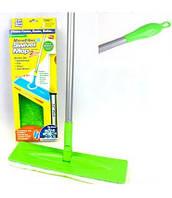 Швабра Моп MicroFiber Swivel Mop с запасной салфеткой, фото 1