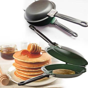 Двусторонняя сковорода для блинов и панкейков Pancake Maker