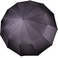 Большой мужской зонт 12 СПИЦ Три Слона в полоску  (полный автомат) арт. M7121-2, фото 1