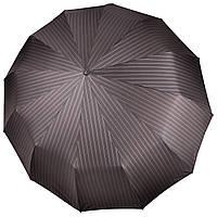 Большой мужской зонт 12 СПИЦ Три Слона в полоску  (полный автомат) арт. M7121-5, фото 1