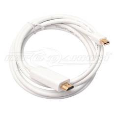 Кабель Mini DisplayPort (Thunderbolt) to HDMI, 2 м,белый
