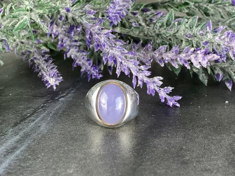 Винтажное Серебряное кольцо с Аметистом