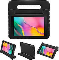"""Противоударный силиконовый чехол Anomaly Kids Hand holder для Samsung Galaxy Tab A7 Lite 8.7"""" T220 Чёрный"""
