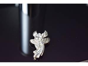 Вінтажна срібна брошка *Ангели*