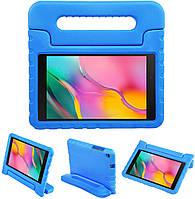 """Противоударный силиконовый чехол Anomaly Kids Hand holder для Samsung Galaxy Tab A7 Lite 8.7"""" T220 Голубой"""