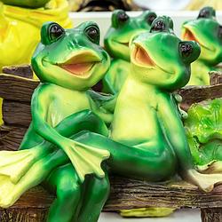 Садовые фигуры лягушки