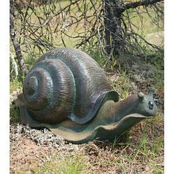 Садові фігури равлики