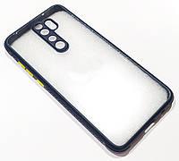Чохол Miqilin case для Xiaomi Redmi Note 8 Pro Синій