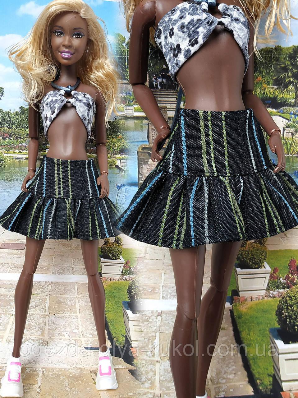 Одежда для кукол Барби - юбка