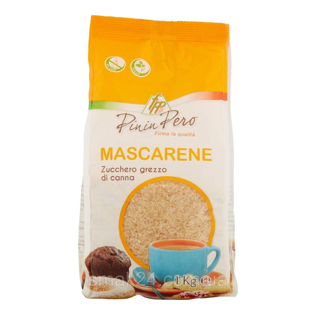 Цукор тростинний коричневий Pinin Pero Mascarene Zucchero grezzo 1кг Італія
