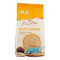 Сахар тростниковый коричневый Pinin Pero Mascarene Zucchero grezzo 1кг Италия