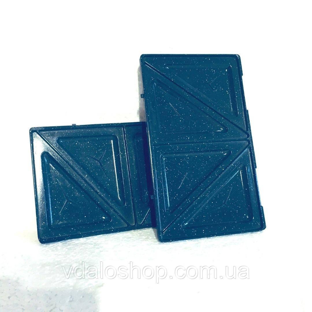 Пластины для сендвичей к мультимейкеру Raven ES005N (пара) Набор пластин для бутербродниц вафельниц
