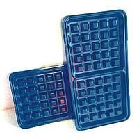 Пластины для вафель к мультимейкеру Raven ES006 (пара) Набор пластин для бутербродниц  для бельгийских вафель, фото 1