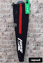 Спортивні штани чоловічі NiKE replika лампас манжет розмір 46-56 купити оптом зі складу 7км Одеса