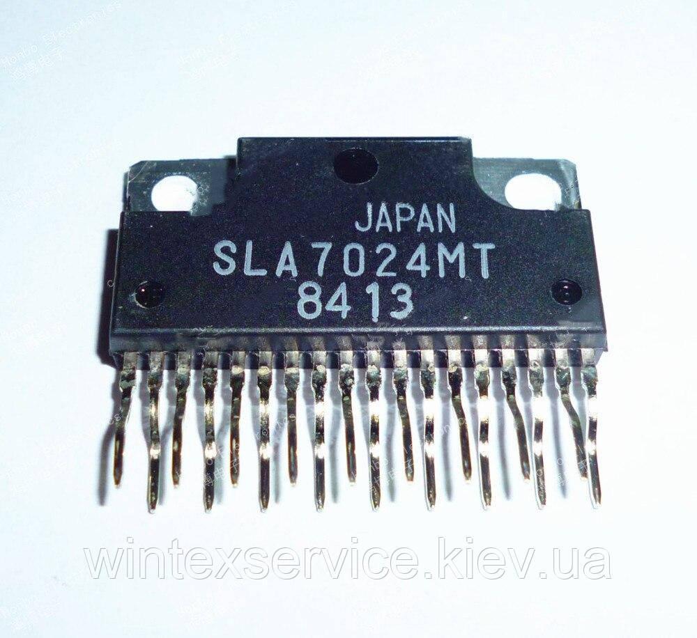 Микросхема  SLA7024MT демонтаж