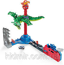 Автотрек Хот Вилс Воздушная атака дракона Hot Wheels Air Attack Dragon GJL13