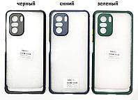 Чохол прозорий Miqilin case для Xiaomi Poco F3 / Xiaomi Redmi K40