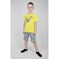 Летний трикотажный костюм для мальчика р. 92-116