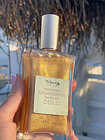 Сухое масло для увлажнения тела с парфюмом Victoria's Secret Flowers Top Beauty Gold Naomi 100 ml