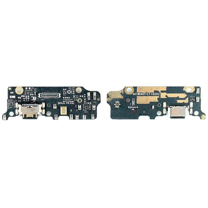 Нижня плата для Xiaomi Mi A2 роз'єм зарядки (роз'єм живлення) і мікофон