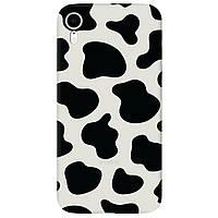 Чохол для Apple iPhone XR напівпрозорий матовий soft touch Cow