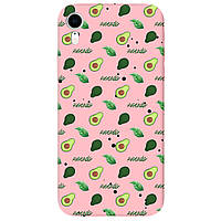 Чохол для Apple iPhone XR ніжно-рожевий матовий soft touch Avocado
