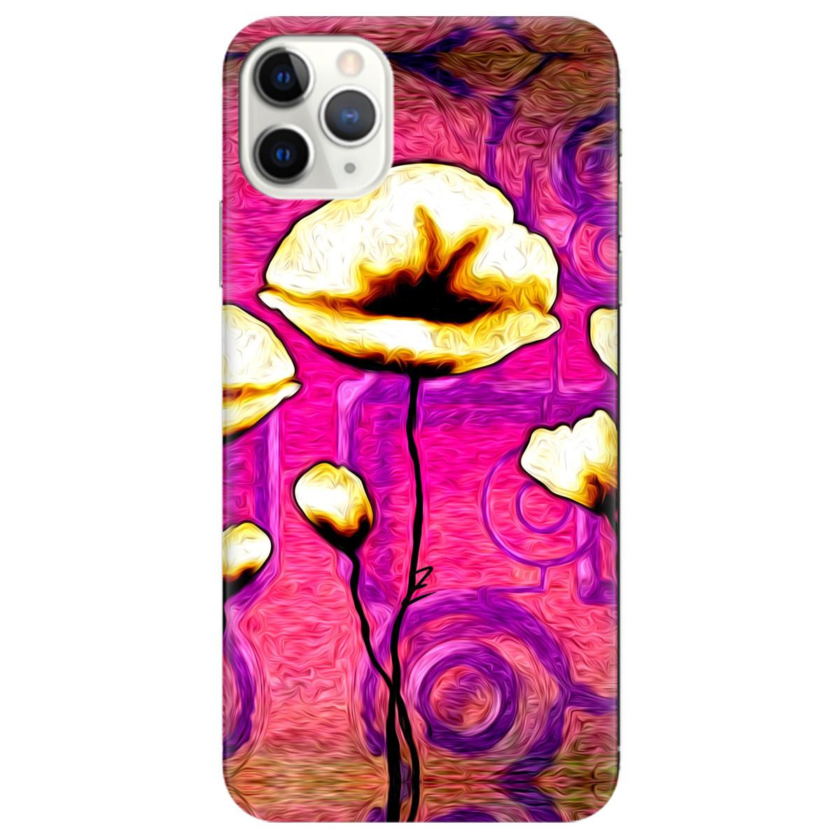 Чехол для Apple iPhone 11 Pro Max Flower kiss
