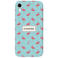 Чохол для Apple iPhone XR Pink Flamingo