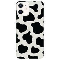 Чохол для Apple iPhone 12 напівпрозорий матовий soft touch Cow