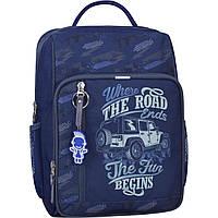 Рюкзак шкільний Bagland Школяр 8 л. синій 909 (0012870), фото 1
