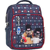 Рюкзак школьный Bagland Школьник 8 л. 321 серый 188к (00112702), фото 1