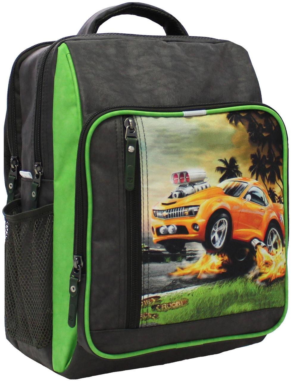 Рюкзак шкільний Bagland Школяр 8 л. 327 хакі 4 м (00112702)