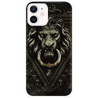 Чохол для Apple iPhone 12 Iron lion