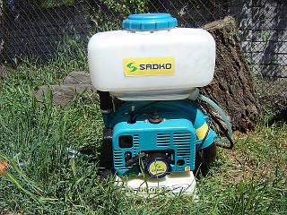 Мотоопрыскиватель Sadko GMD-6014 (электростатика, насос)