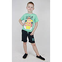 Детский костюм для мальчика на лето р. 98-116