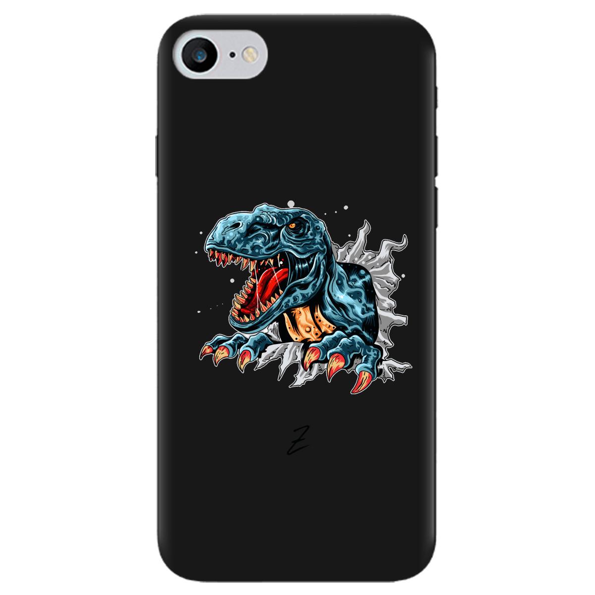 Чохол для Apple iPhone 7 чорний матовий soft touch Rex