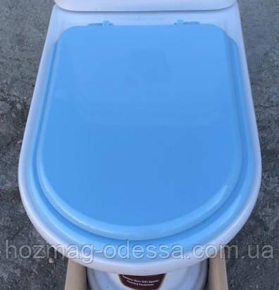 Сидіння для унітазу Monaco (Монако),блакитного кольору, оригінал