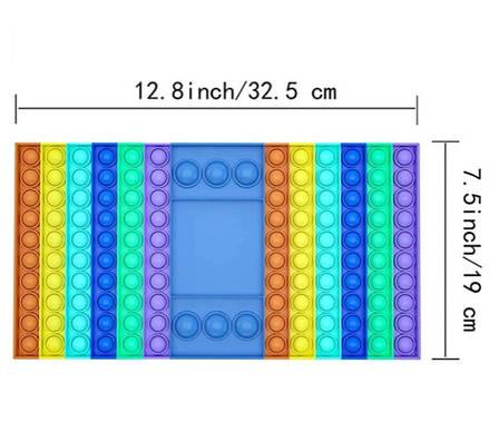 Игровой набор Pop It Simple Dimple для 2х игроков (Игрушка антистрес Pop It), фото 2
