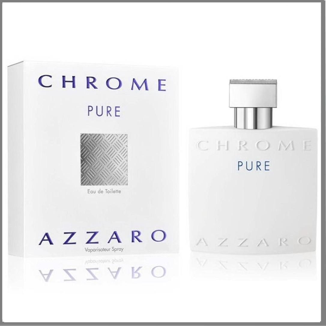 Azzaro Chrome Pure туалетная вода 100 ml. (Аззаро Хром Пур)
