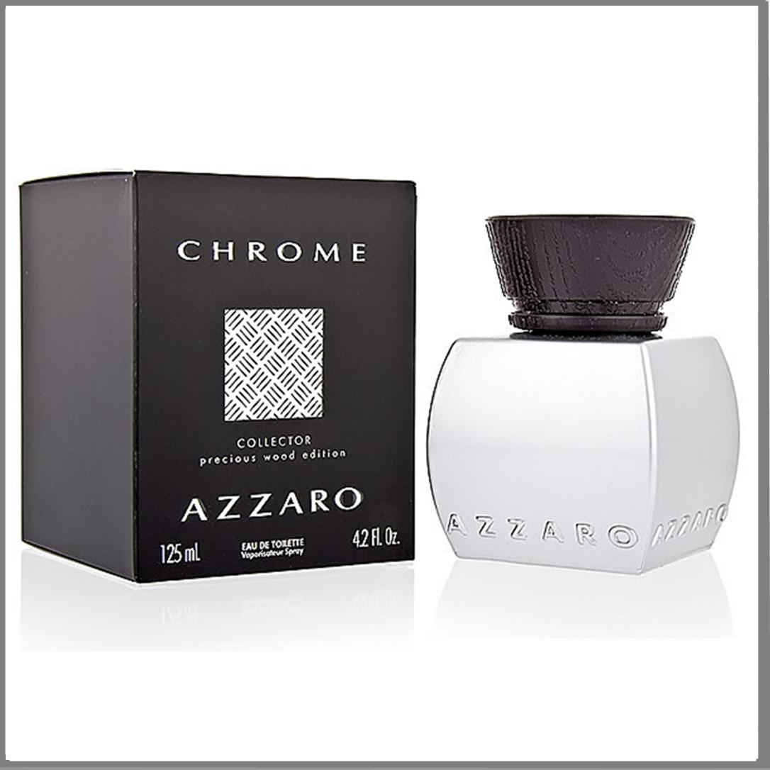 Azzaro Chrome Collector Precious Wood Edition туалетна вода 125 ml. (Аззаро Хром Колектор Вуд Эдишн)