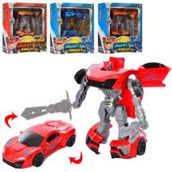 Трансформер HY-8855  робот+машина, 16см, 4 вида, в кор-ке, 22-28-8,5см
